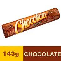 Biscoito Recheado Chocolicia 143g Chocolate