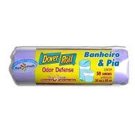 Saco Lixo Dover Roll Banheiro E Pia Com 50 Odor Defense