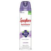Desinfetante Lysoform 360ml Aerosol Lavanda