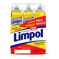 Deterg Líq Limpol 500ml Com 6 Unid Lv Mais Pg Menos Neutro