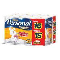 Papel Higiênico Folha Simples Personal Leve 16 Pague 15
