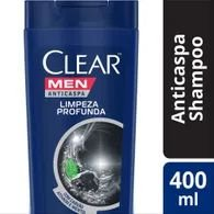 Shampoo Clear 400ml Anticaspa Limpeza Profund