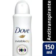 Desodorante Aerosol Dove 89g Feminino Invisible Dry