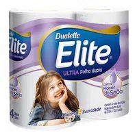 Papel Higiênico Folha Dupla Elite Dualette Com4 30m