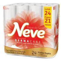 Papel Higienico Folha Dupla Neve L24p21 Neutro