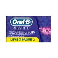 Creme Dental Oral B3d 70g Leve3 Pague2