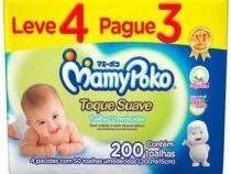 Toalhas Umedecidas MamyPoko Toque Suave - 200 Unidades