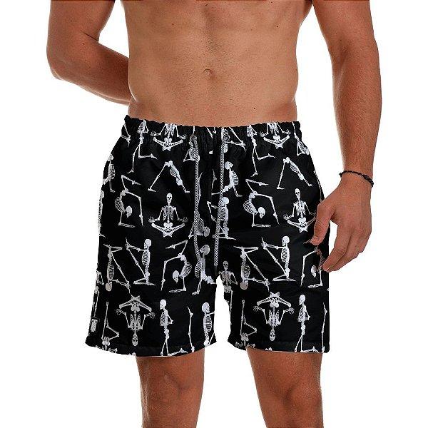 Short Praia Use Thuco Esqueletos