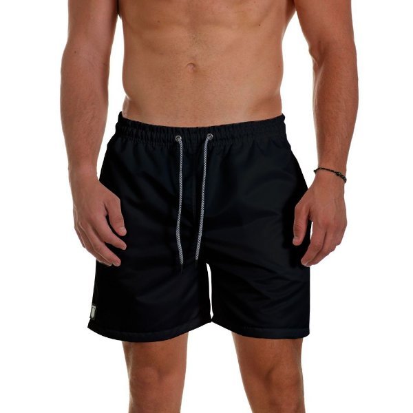 Short de Praia Masculino Black Use Thuco