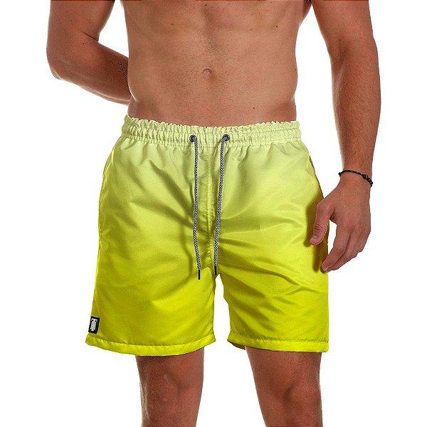 Short de Praia Masculino Amarelo Degrade Use Thuco