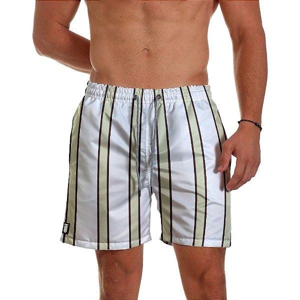 Short de Praia Masculino White Use Thuco
