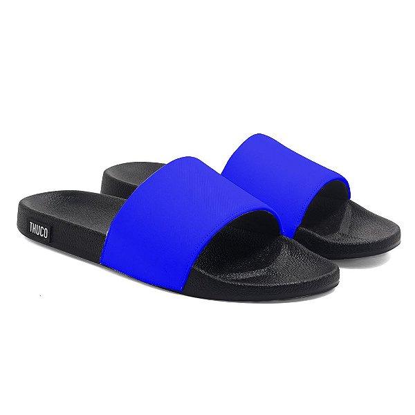 Chinelo Slide Use Thuco Azul Neon