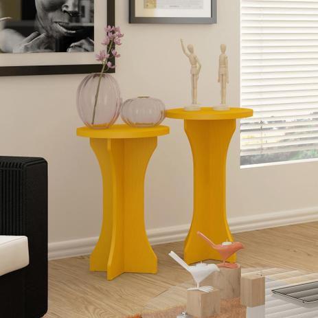 Mesa apoio luck amarelo  - Artely