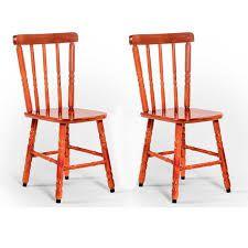 Cadeira De Madeira Torneada Disa móveis Mel