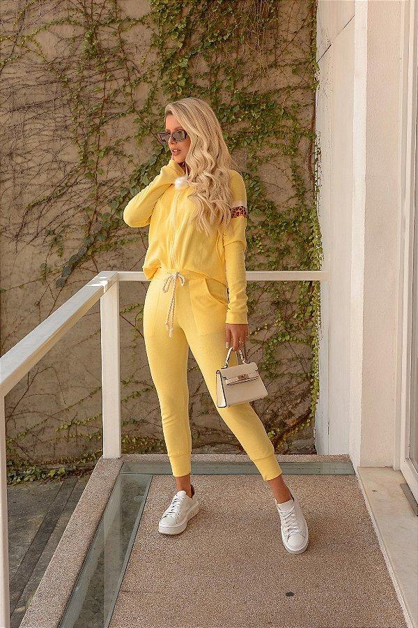 Conjunto Plush Amarelo