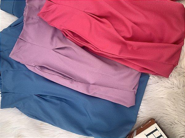 Calça Celine Laço alfaiataria - Rosa