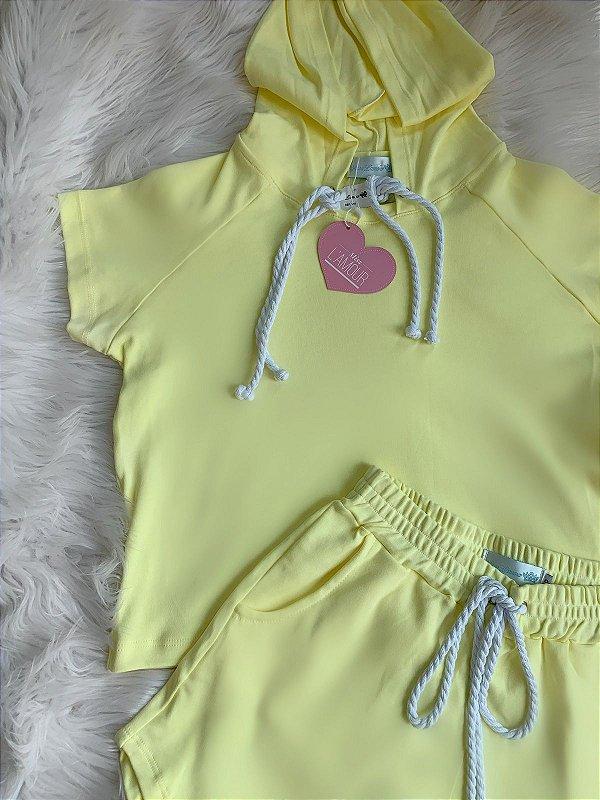 Conjunto baby yellow