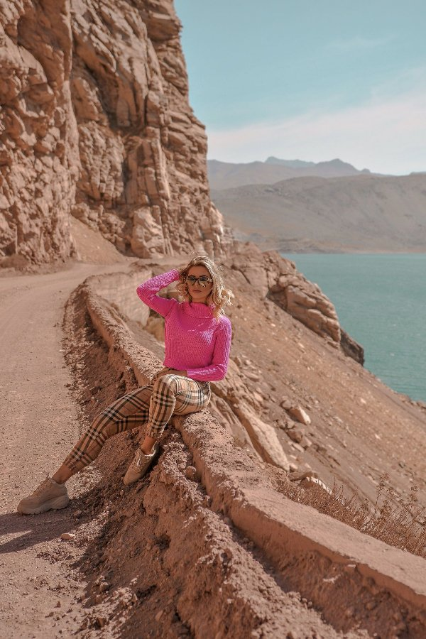 Tricot cacharrel Thassia Pink