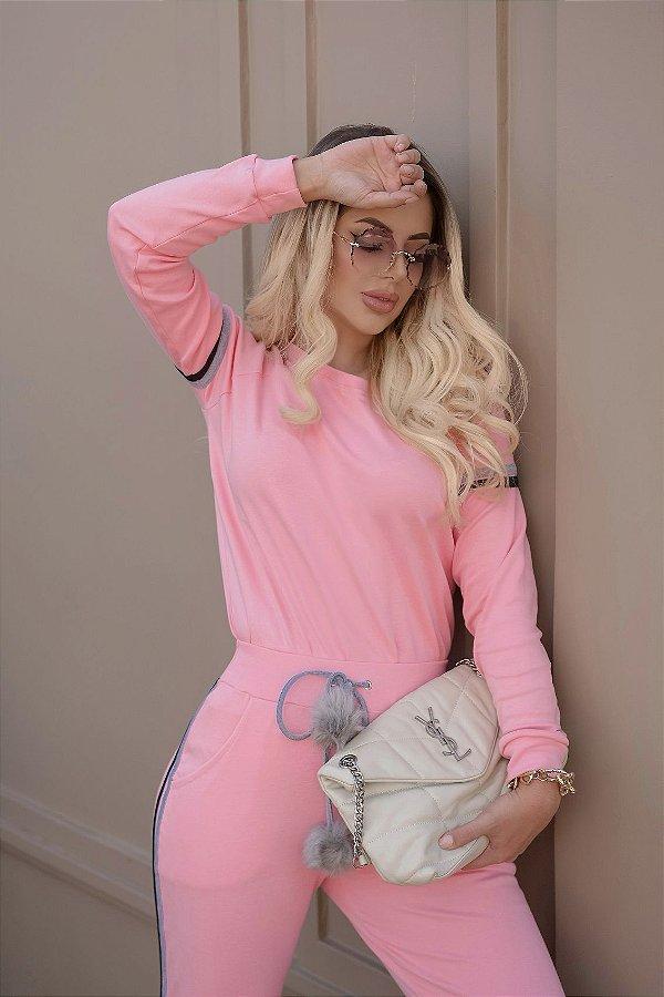 Conjunto Barbie Pompom
