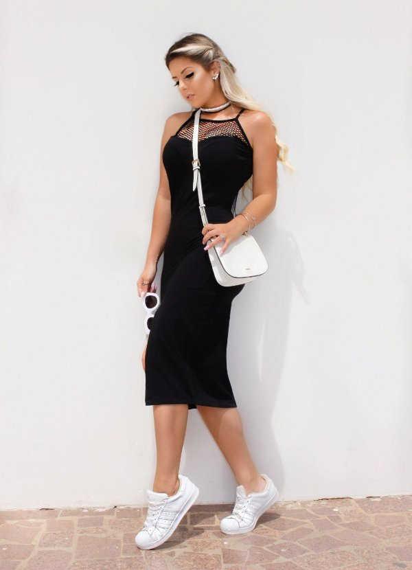 Dress Midi Tule