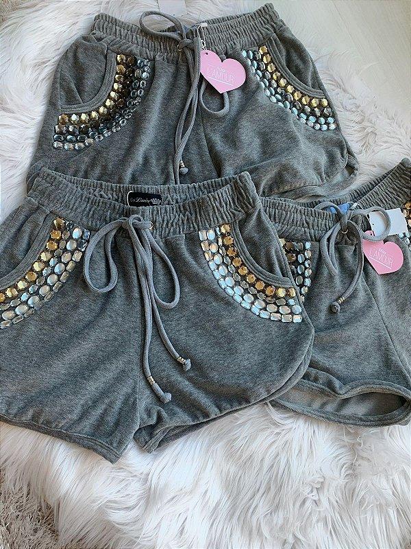 Shorts plush pedraria