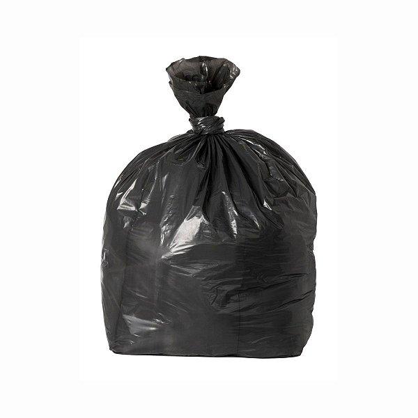 Saco para Lixo 150L 93x100cm 0,006mm Preto com 100 Sacos
