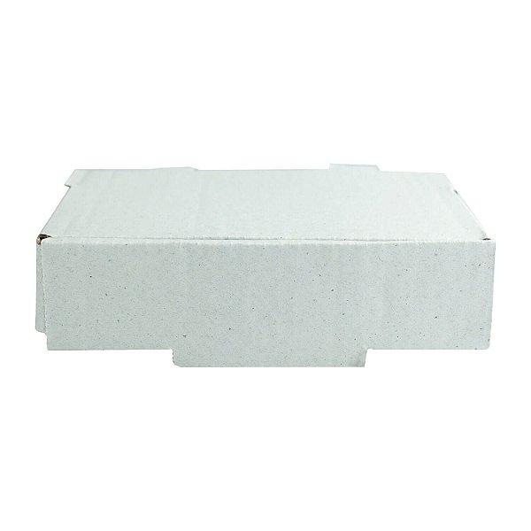 Caixa de Papelão Lisa Nº3 16,5x12,2x04cm para Salgados, Esfihas e Doces com 25 Unidades