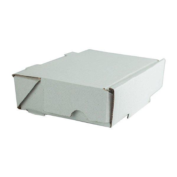 Caixa de Papelão Lisa Nº20 31,9x22,2x5,7cm para Salgados, Esfihas e Doces com 25 Unidades