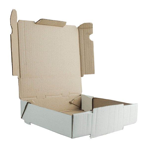 Caixa de Papelão Lisa Nº40 40,7x40,2x4,5cm para Salgados, Esfihas e Doces com 25 Unidades