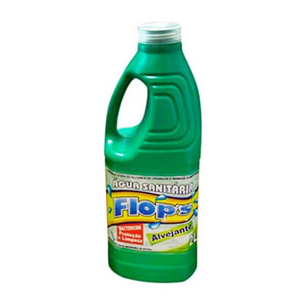 Água Sanitária Alvejante 2L FLOP'S
