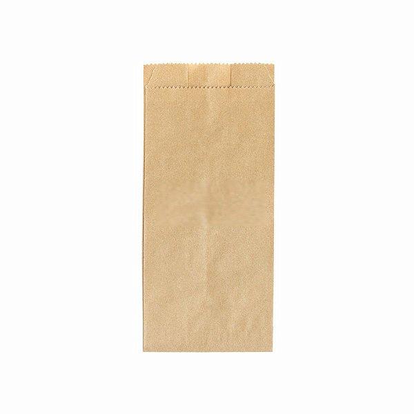Saco de Papel Kraft Mix 09x19cm 1/2 Kg com 500 Saquinhos
