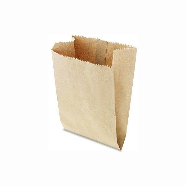 Saco de Papel Pardo 09x12cm 1/4 Kg com 500 Embalagens