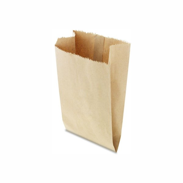 Saco de Papel Pardo 18x26cm 4 Kg com 500 Embalagens