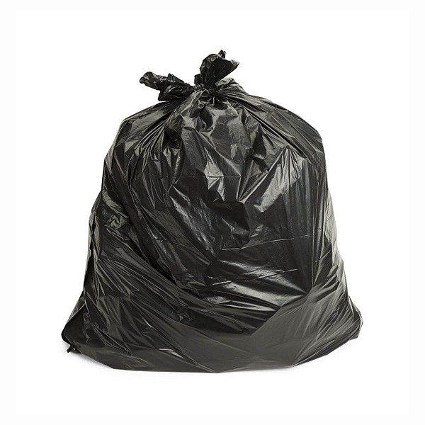 Saco para Lixo 50L 65x80cm 0,006mm Othymo Preto com 10 Sacos