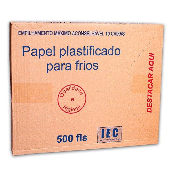 Papel Acoplado Mono 30x40cm para Frios com 500 Folhas I.E.C