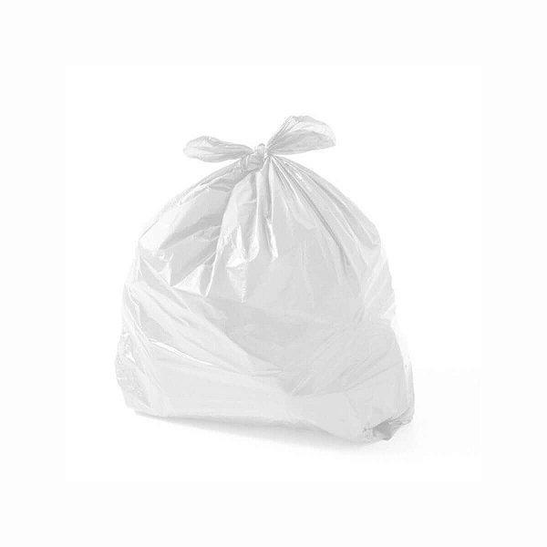 Saco para Lixo de Banheiro/Pia 37x40cm Leitoso com 20 Saquinhos Othymo