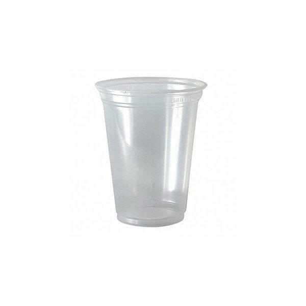 Copo Plástico Descartável 330ml PP Transparente para Chopp Rioplastic