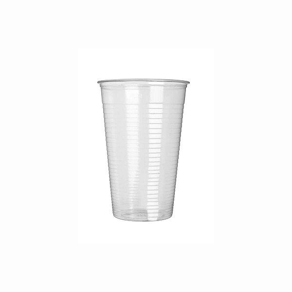 Copo Plástico Descartável 400ml PS Translúcido Copaza
