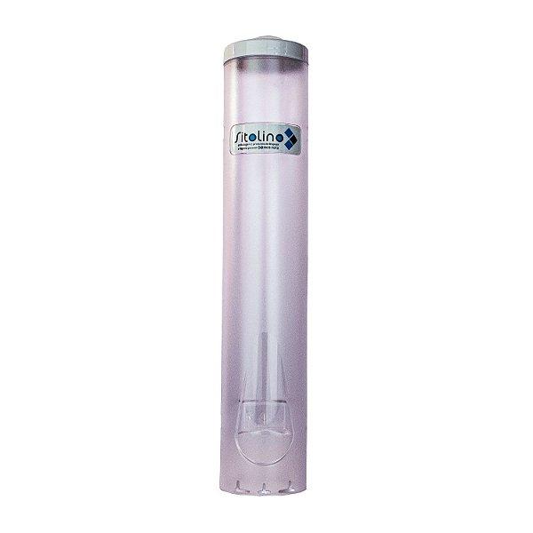 Dispenser para Copo de Água 180ml Acrílico Trilha