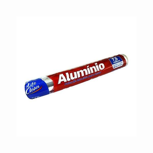 Folha de Alumínio 30cmx7,5m Life Clean