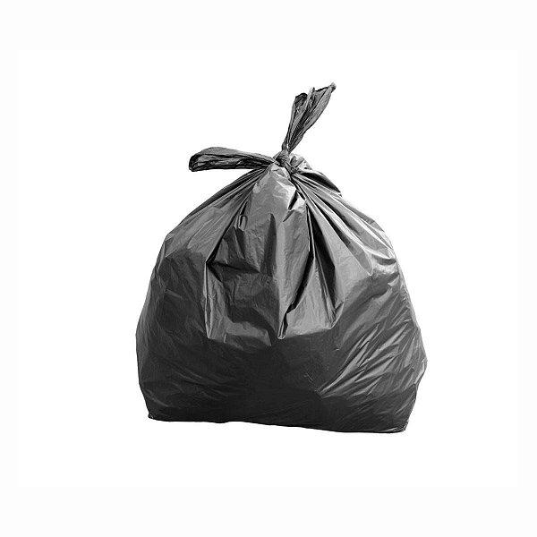 Saco para Lixo 100L Super Resistente 85x100cm 0,012mm Preto