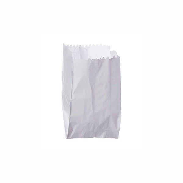 Saco de Papel Mono 07x10cm para Pipoca com 500 Saquinhos