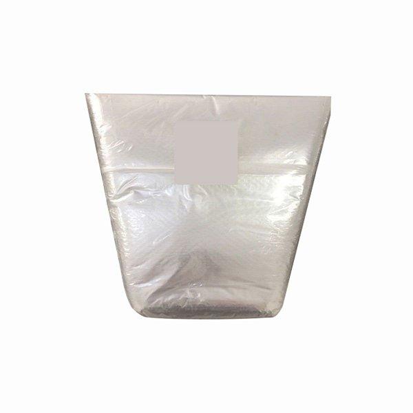 Saco Plástico Cone 20x40x30cm para Alface e Outras Hortaliças