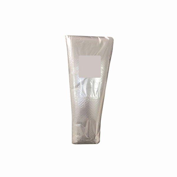 Saco Plástico Cone 08x18x35cm para Cheiro Verde e Outras Hortaliças
