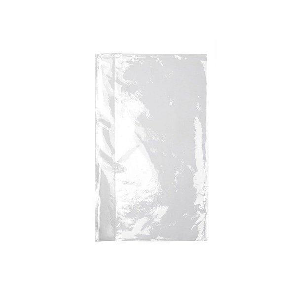 Saco Plástico Virgem PE 22x45cm 0,006mm com 1kg, 160 Sacos