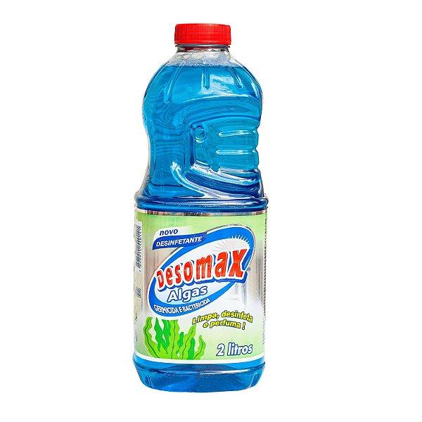 Desinfetante Algas 2L Limpa, Perfuma e Desinfeta Desomax