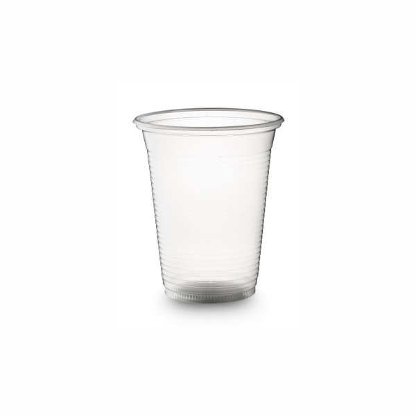 Copo Plástico Descartável 400ml PS Translúcido Copoplast