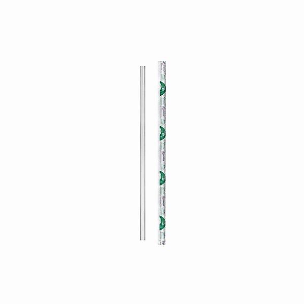 Canudo Plástico Biodegradável em Sachê 24cmx05mm com 3.000 Canudinhos Strawplast