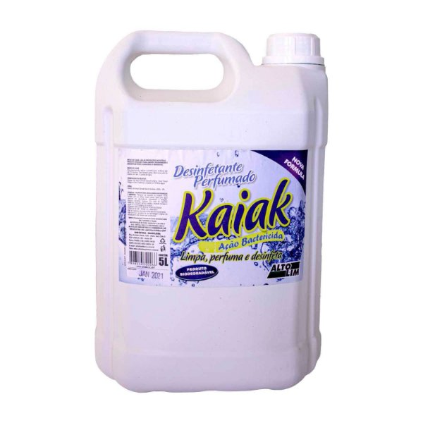 Desinfetante Perfumado Kaiak Ação Bactericida 5L AltoLim