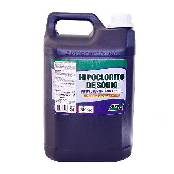 Hipoclorito de Sódio Solução a +/-11% 5L AltoLim